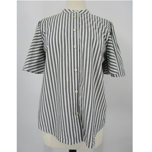 Kate Spade Short Full Sleeve Button Up Blouse